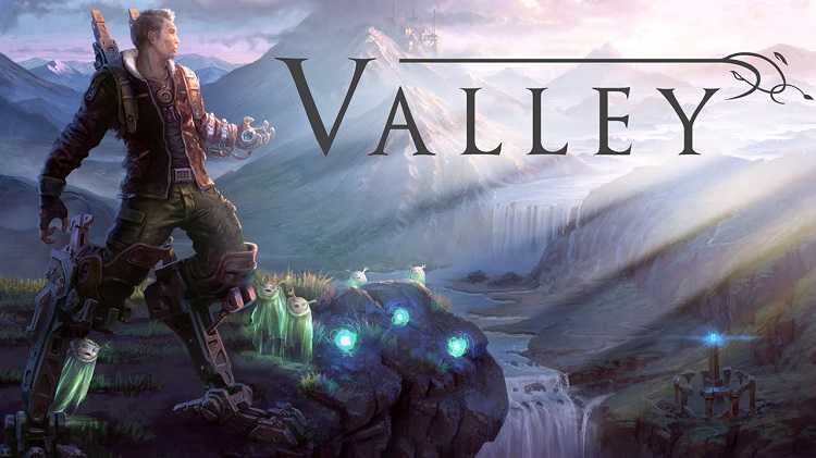 Explore a gorgeous landscape and use a powerful ability-enhancing exosuit in 'Valley'