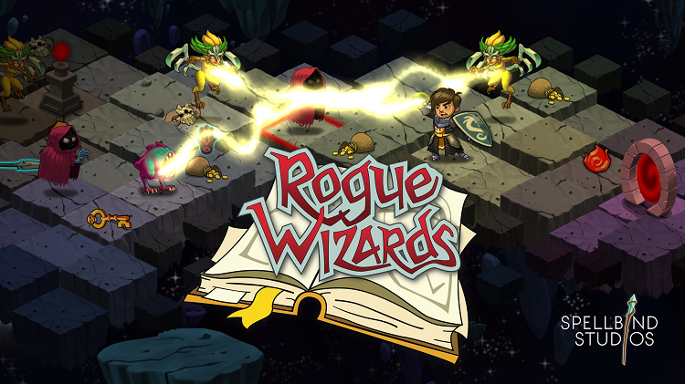 Collect loot, crawl dungeons, and build towns in 'Rogue Wizards'