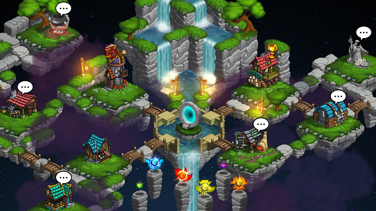 Rogue Wizards Town