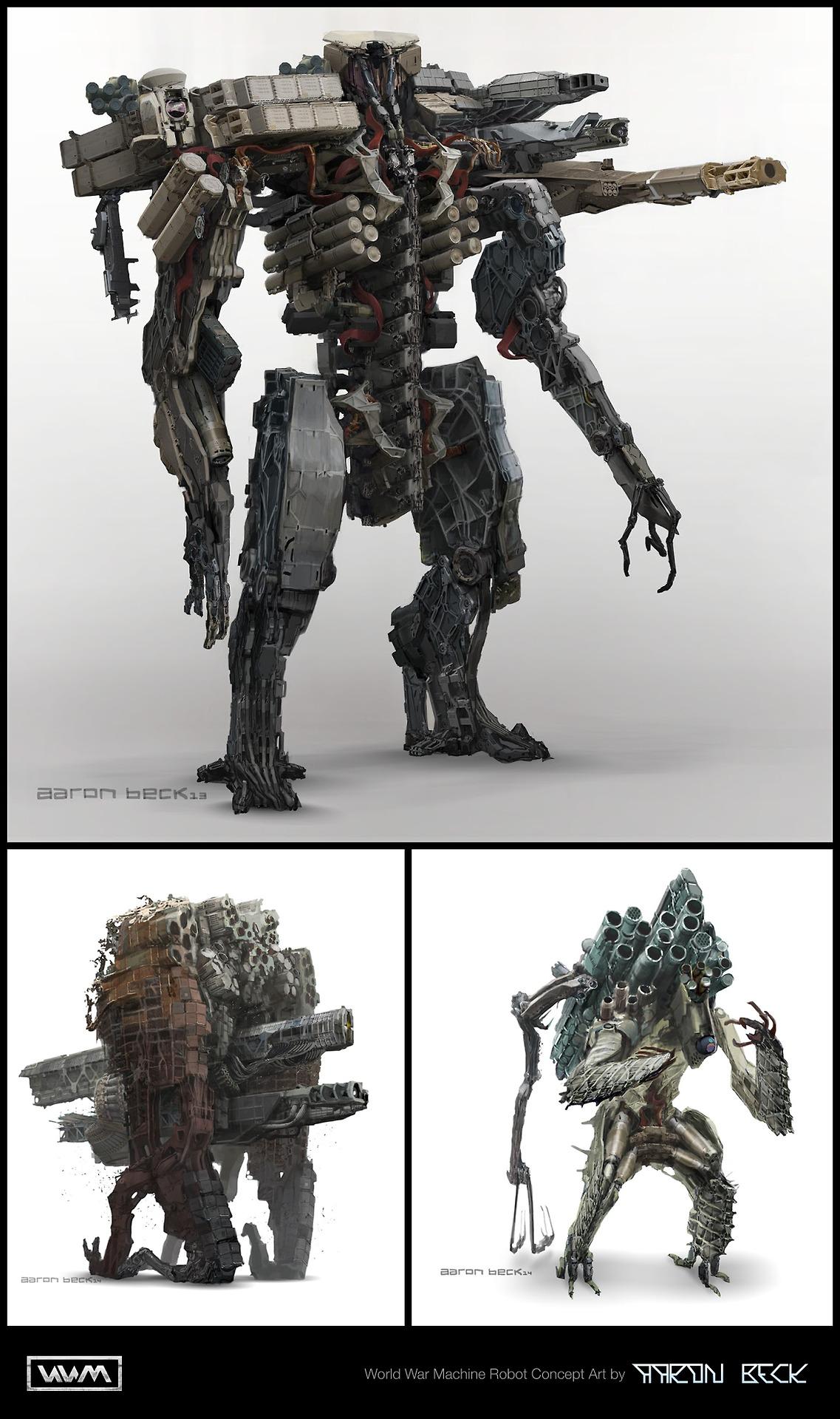 World War Machine Concept Art