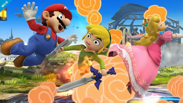 Toon Link in Super Smash Bros. for Wii U and 3DS