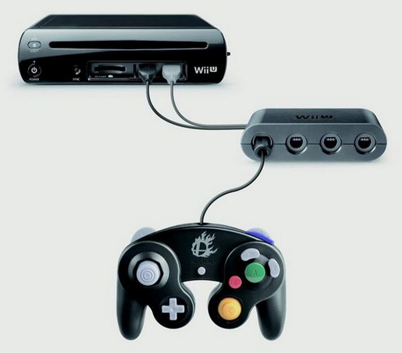 Wii U GameCube Adapter 1