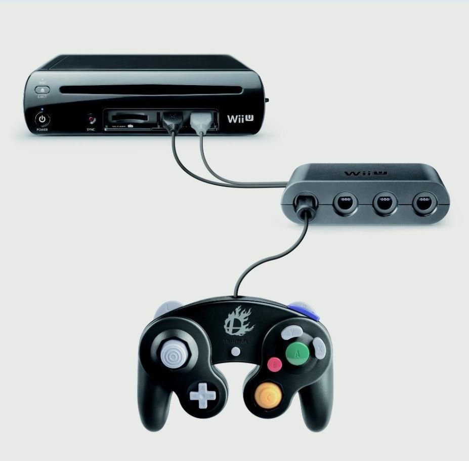 Nintendo Reveals A Gamecube Controller Adapter For Super Smash Bros. Wii U