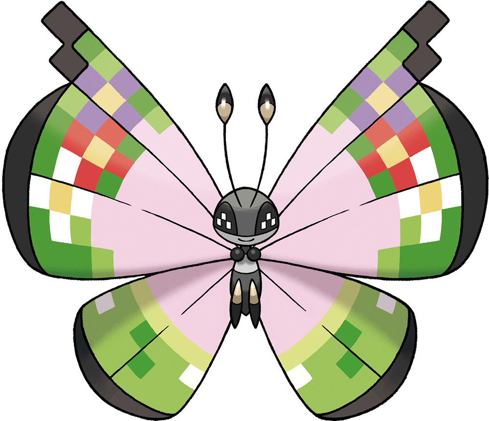 Pokémon Celebrating 100 Million Trades With Fancy Pattern Vivillon