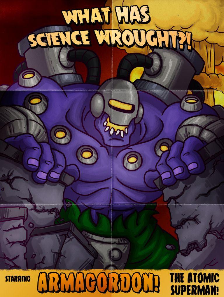 Kaiju-A-Go-Go Mutant