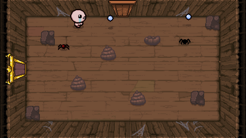 The Binding of Isaac Rebirth Spiders