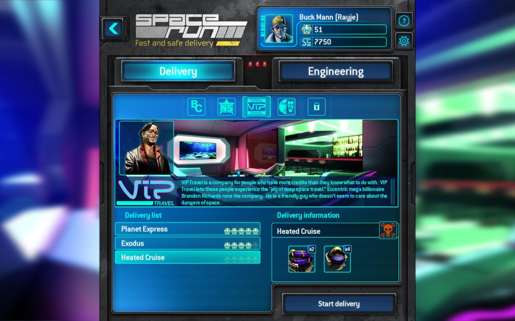 Space Run VIP