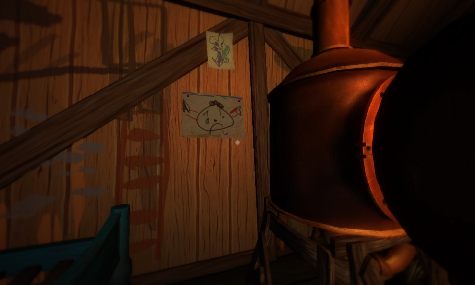 Among the Sleep: Child's Drawing