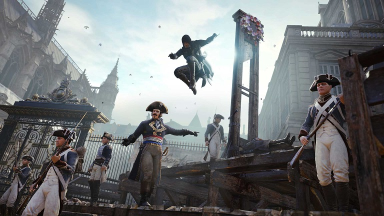Assassin's Creed: Unity Guillotine Promo Image