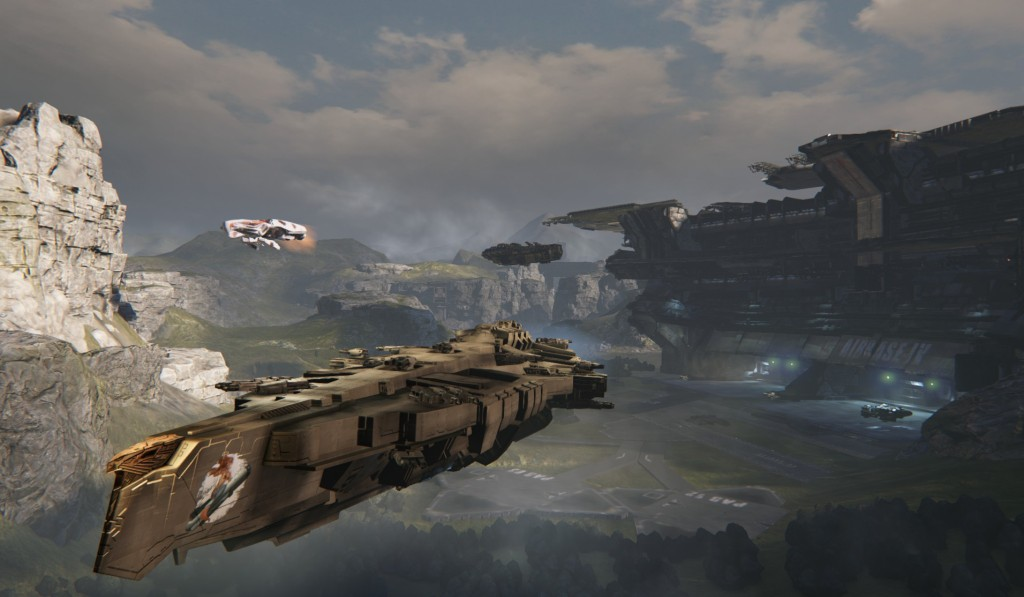 Dreadnought Assault Near Airbase