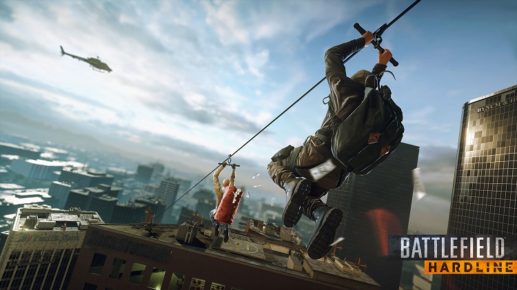 Battlefield Hardline pits cops against robbers on an epic scale