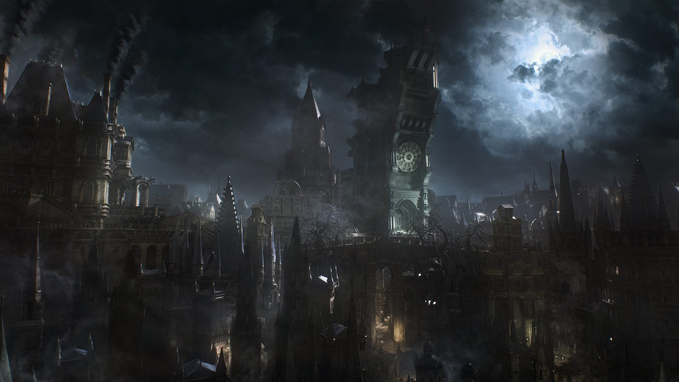 Bloodborne's City Art