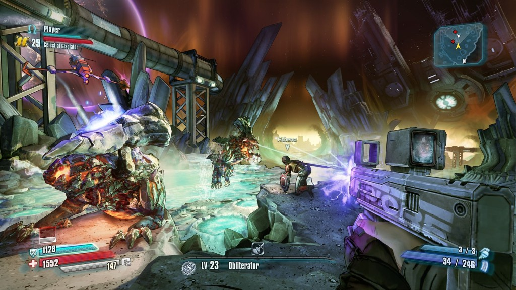 Borderlands The Pre-Sequel Moon Monsters