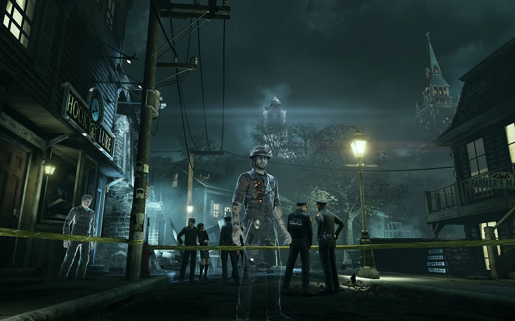 Crime Scene Environment Murdered Soul Suspect