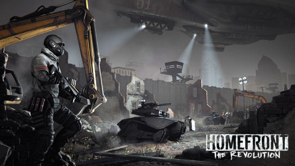 HOMEFRONT THE REVOLUTION Environment