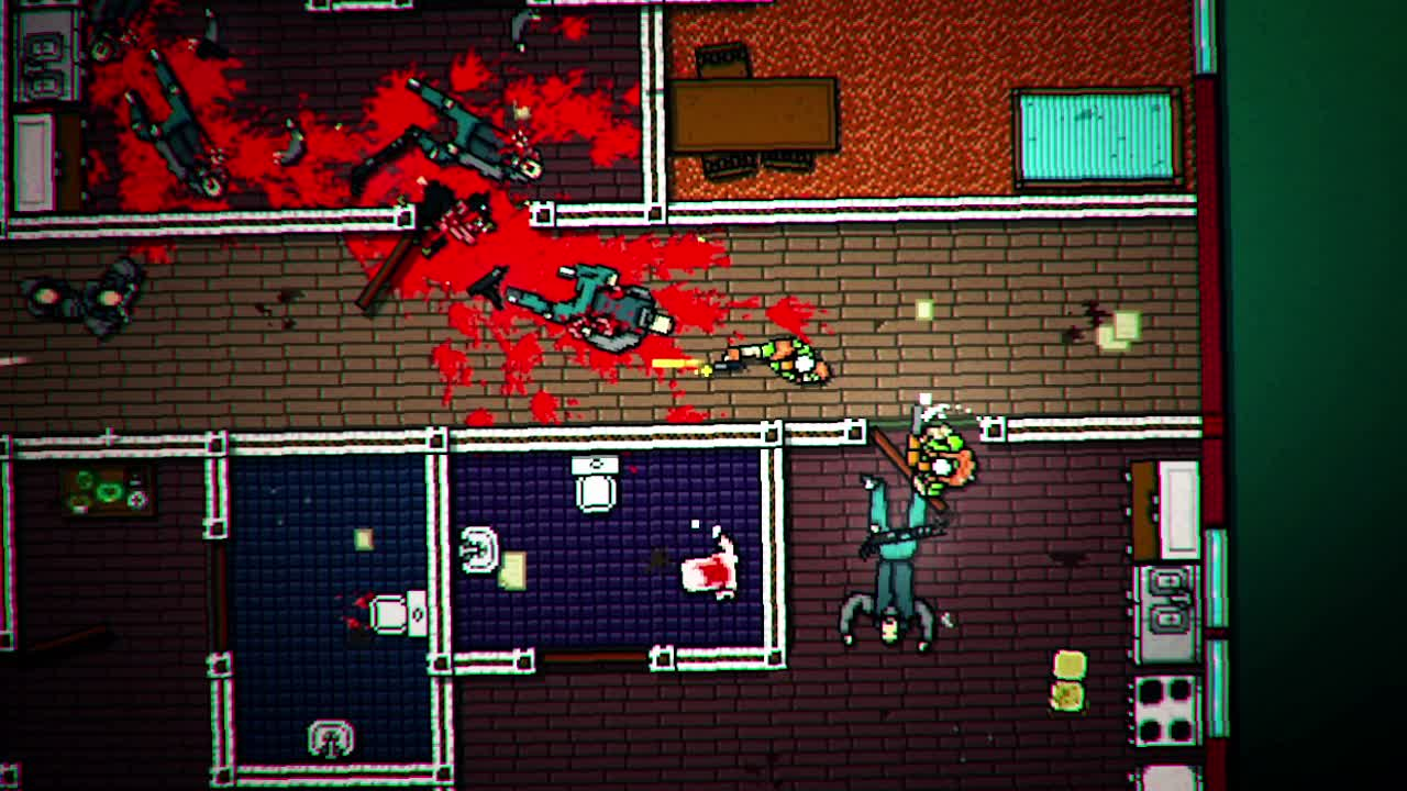 Hotline Miami 2 Alex and Ash