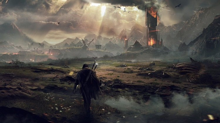 Shadow Of Mordor Mordor Landscape