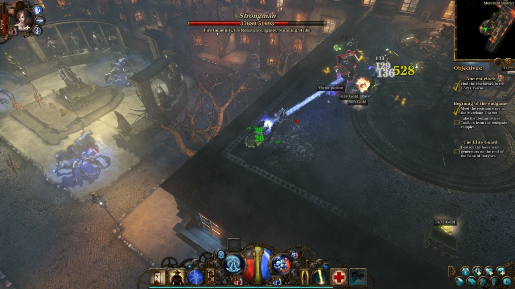 The Incredible Adventures of Van Helsing II Combat