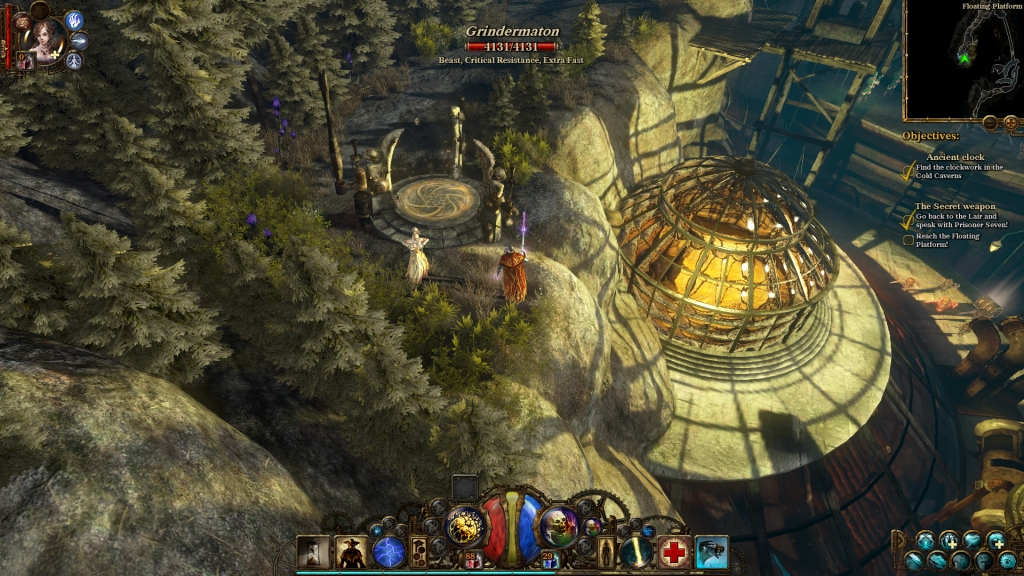 The Incredible Adventures of Van Helsing II WIlderness