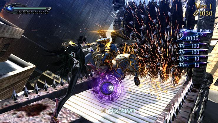Bayonetta 2 Torture Attacks