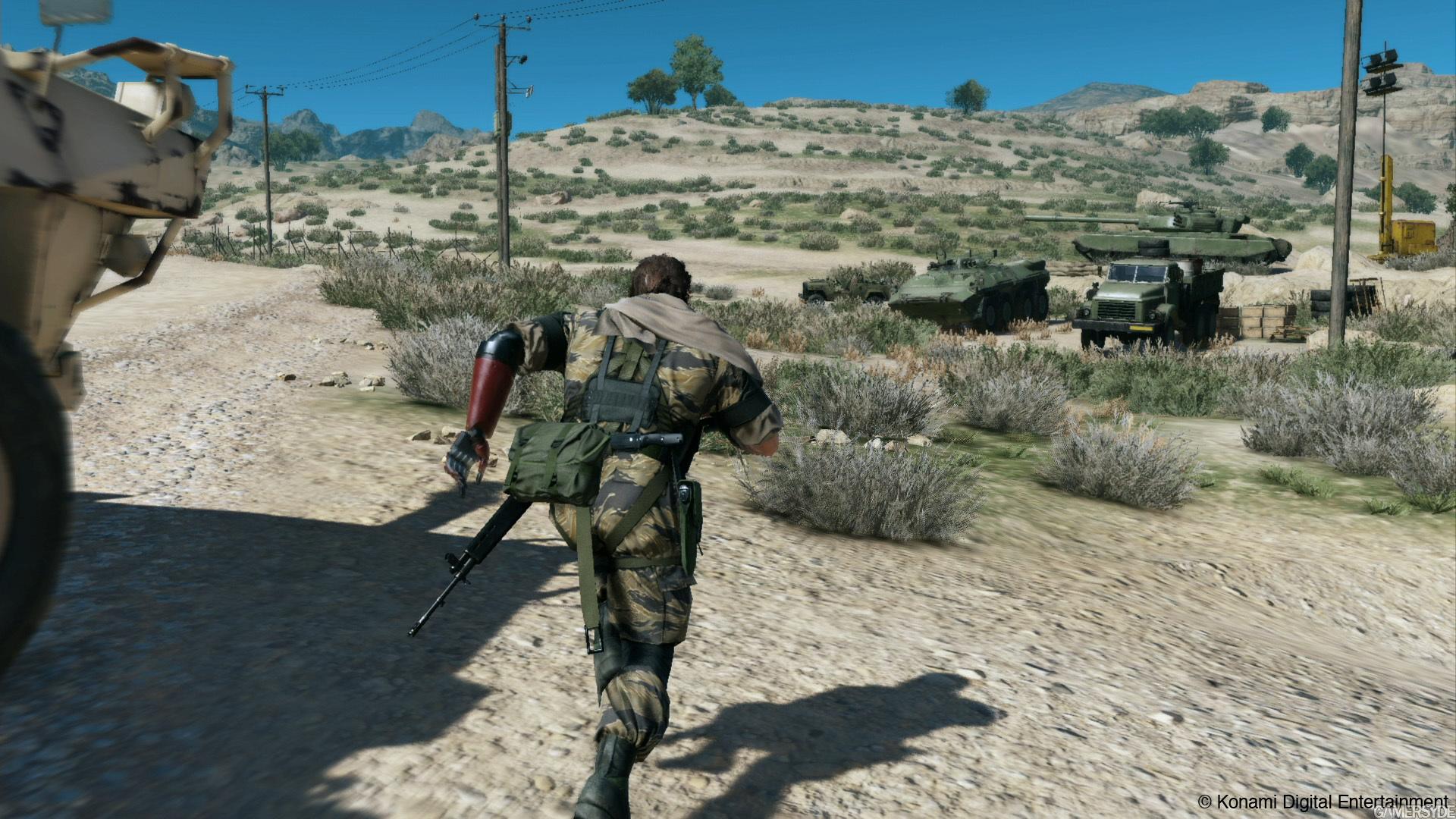 Metal Gear Solid V The Phantom Pain Assault
