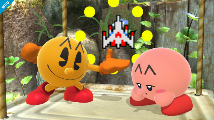 Pac-Man Super Smash Bros