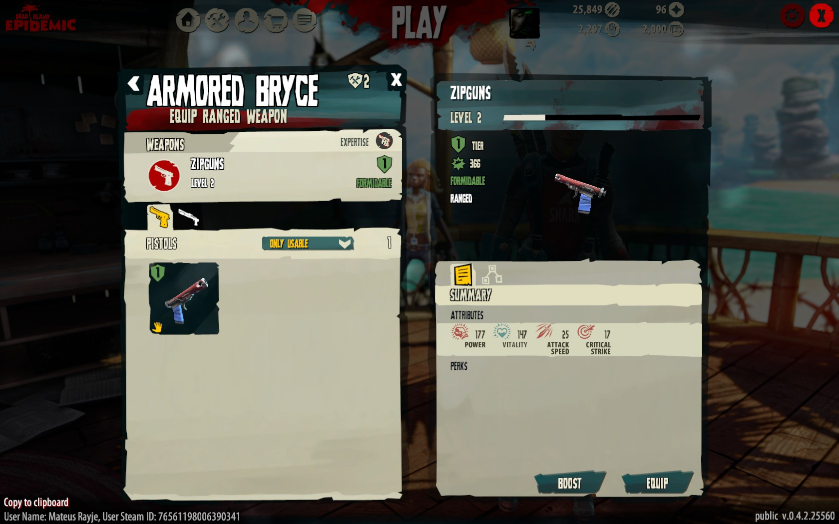 Dead Island Epidemic Weapons