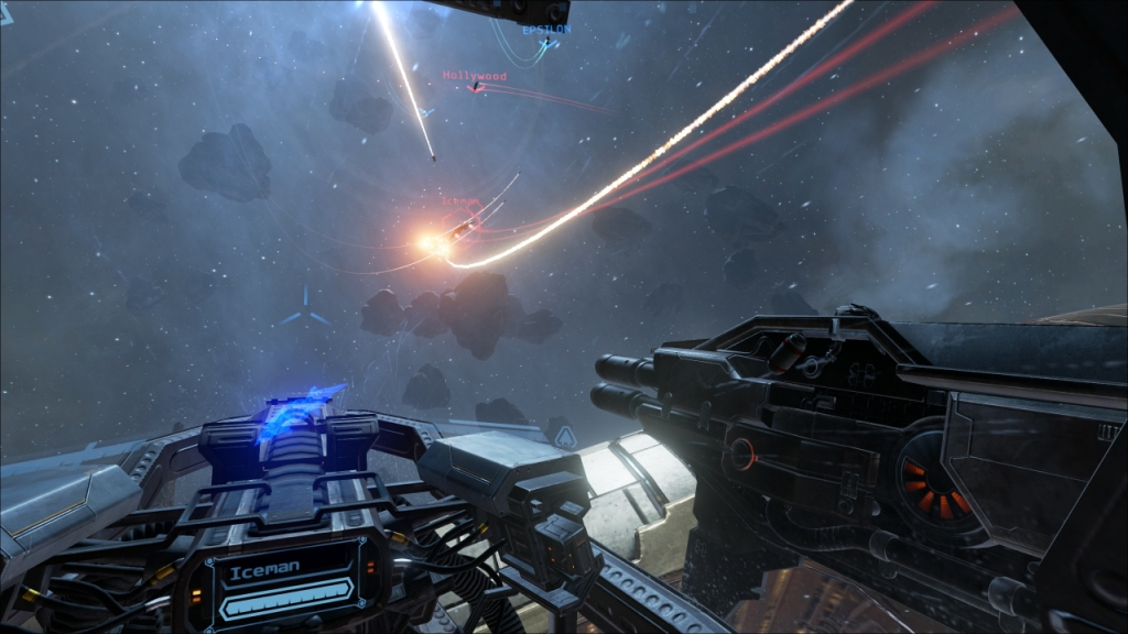 EVE Valkyrie Visuals