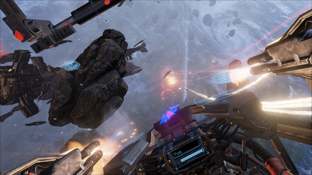 EVE Valkyrie Chase