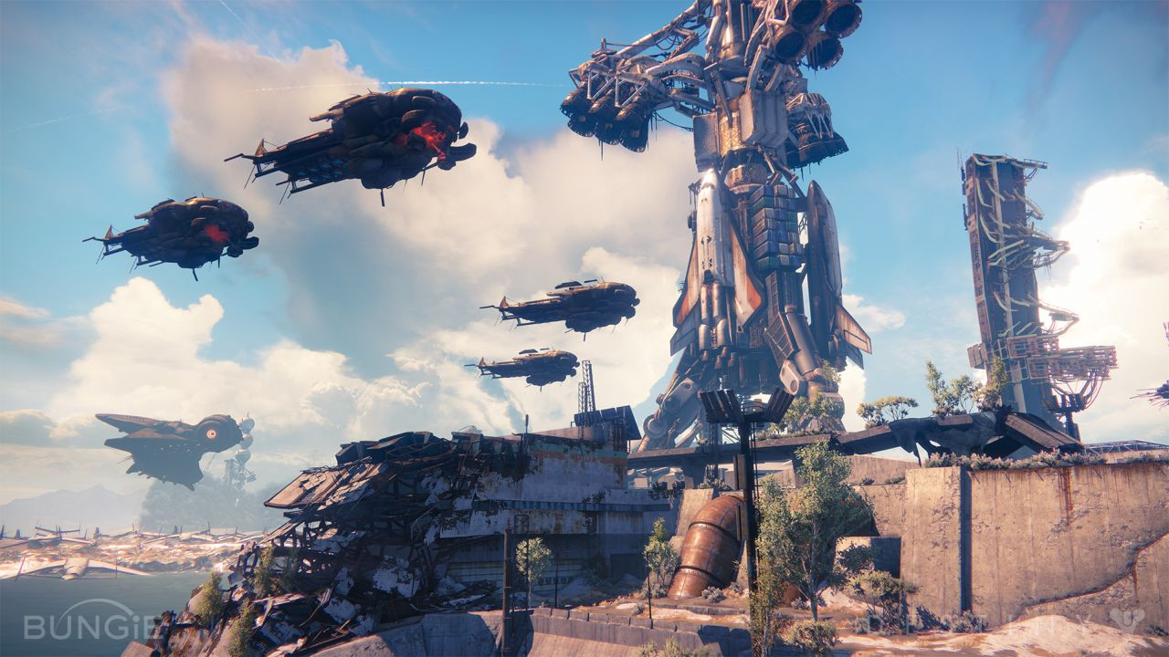 Destiny Dropships
