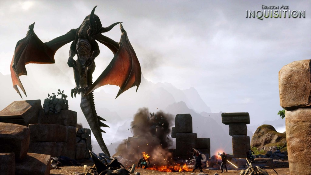 Dragon Age: Inquisition - Battle Against a High Dragon