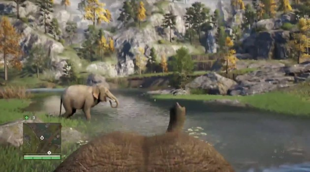 Riding the Elephants Far Cry 4