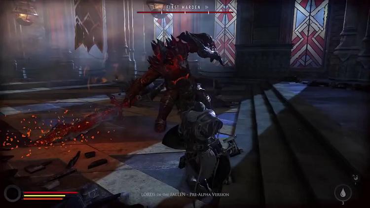 Lords Of The Fallen First Boss Battle