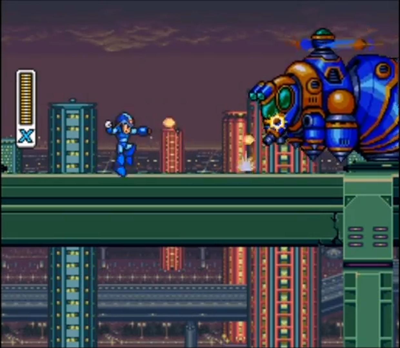 Mega Man X Miniboss