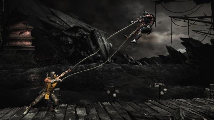 Mortal Kombat X Scorpion Subzero Kunai Chain
