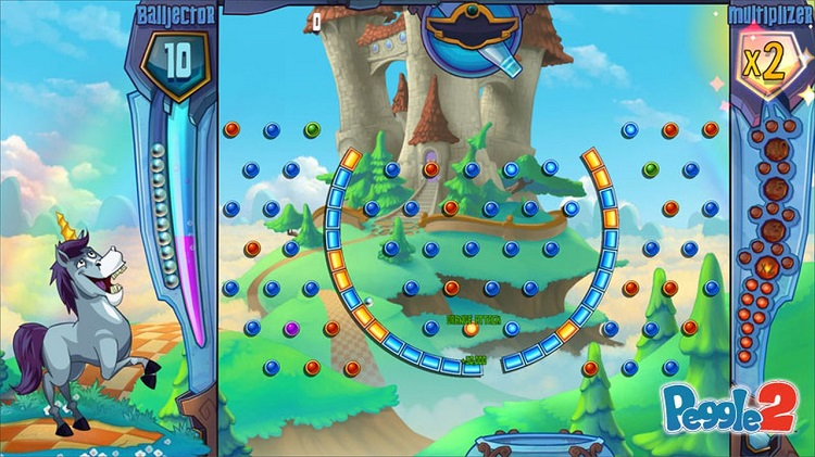 Peggle 2 Horse Character Screen