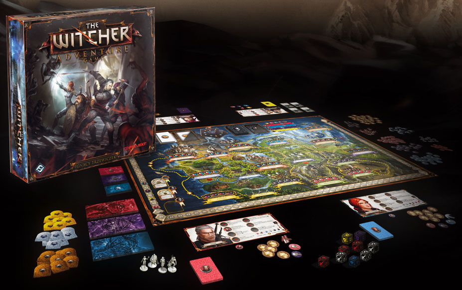 The Witcher Adventure Game Board