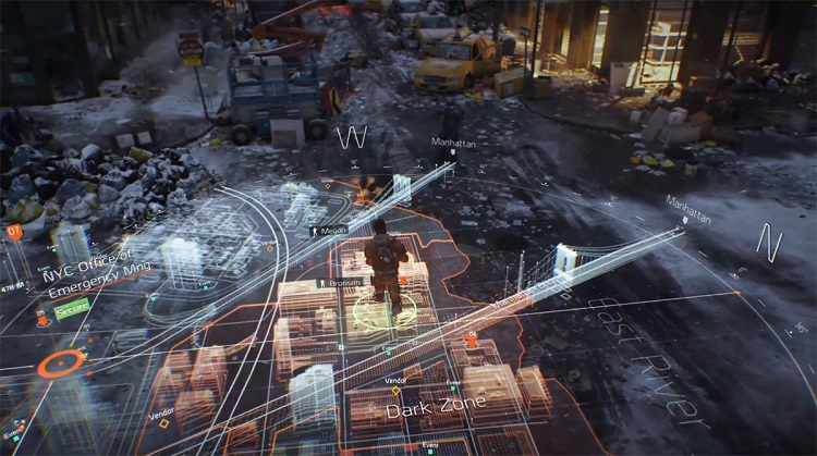 Tom Clancys The Division Map