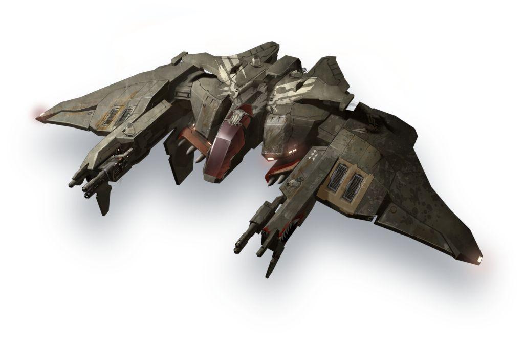 EVE Valkyrie Wraith Mk II