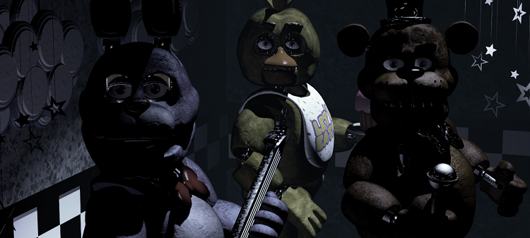 Five Nights At Freddy's Staring From Stage