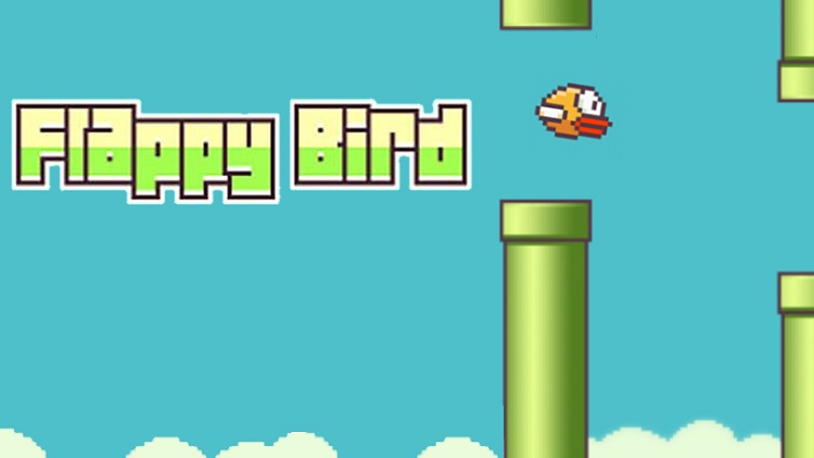 Flappy Bird Image Gameplay Pipe