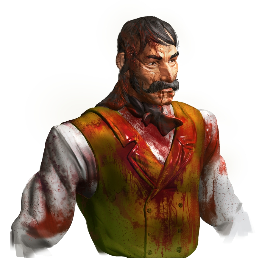 Hard West Character Art