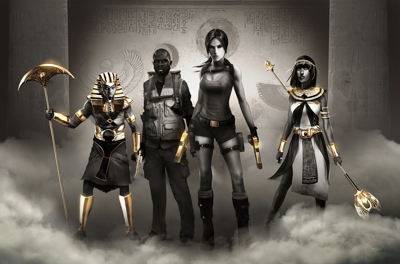 Lara Croft And The Temple Of Osiris Gold Edition Art
