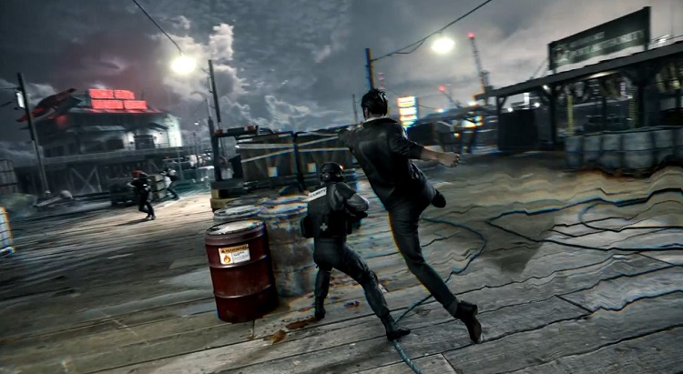 Quantum Break Melee Combat