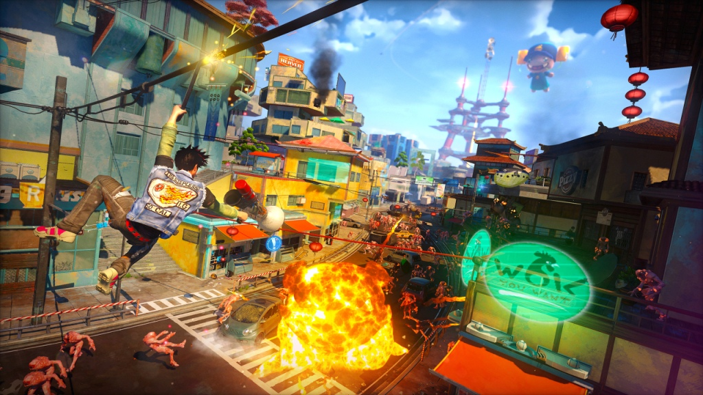 Sunset Overdrive Sunset City