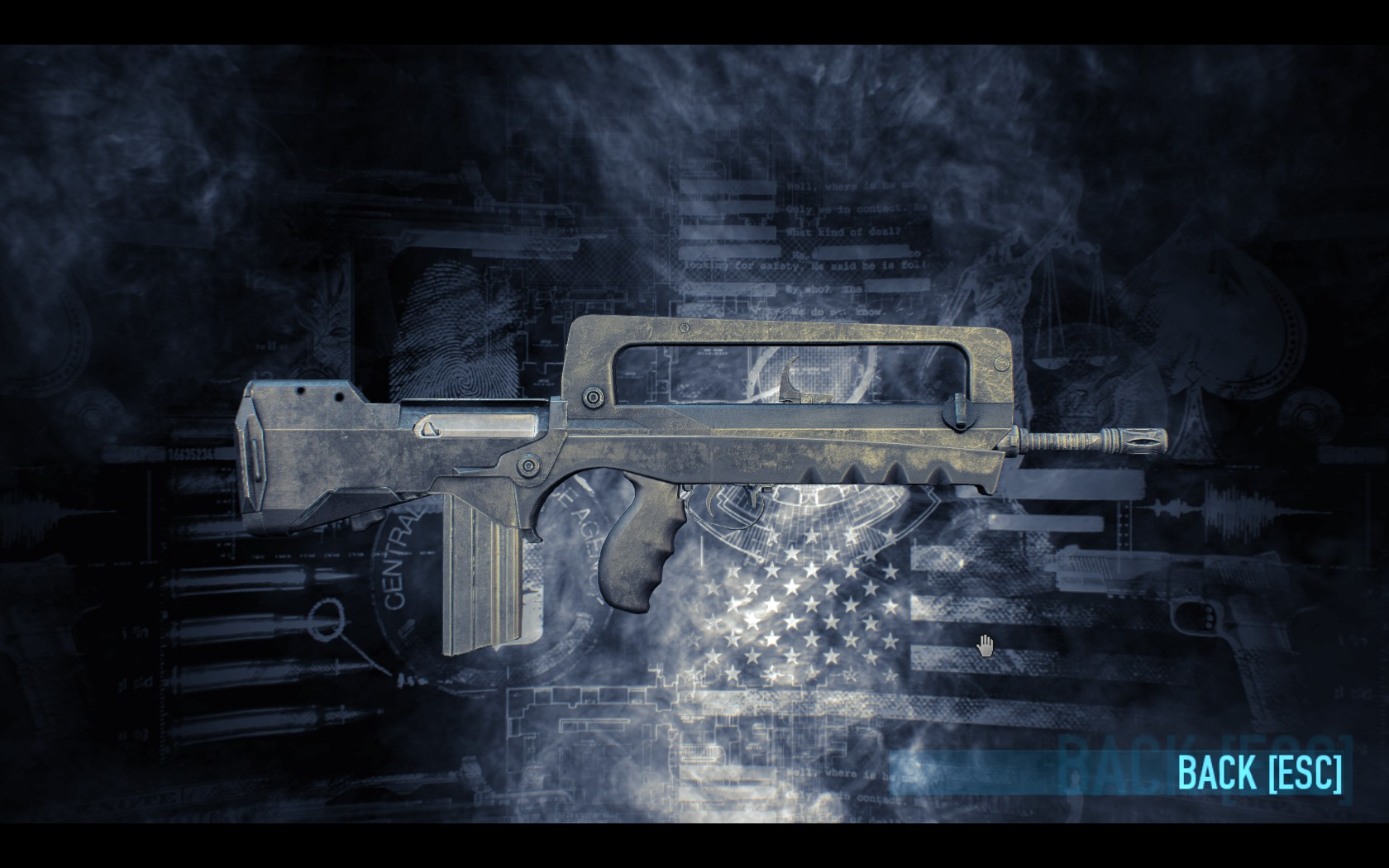Payday 2 Gage Assault Clarion Model