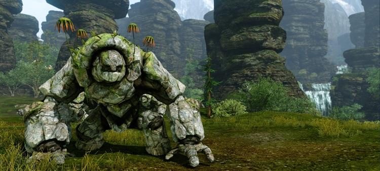 ArcheAge Rock Monster