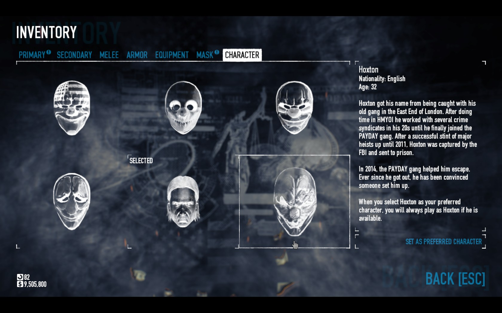 Payday 2 Old Hoxton