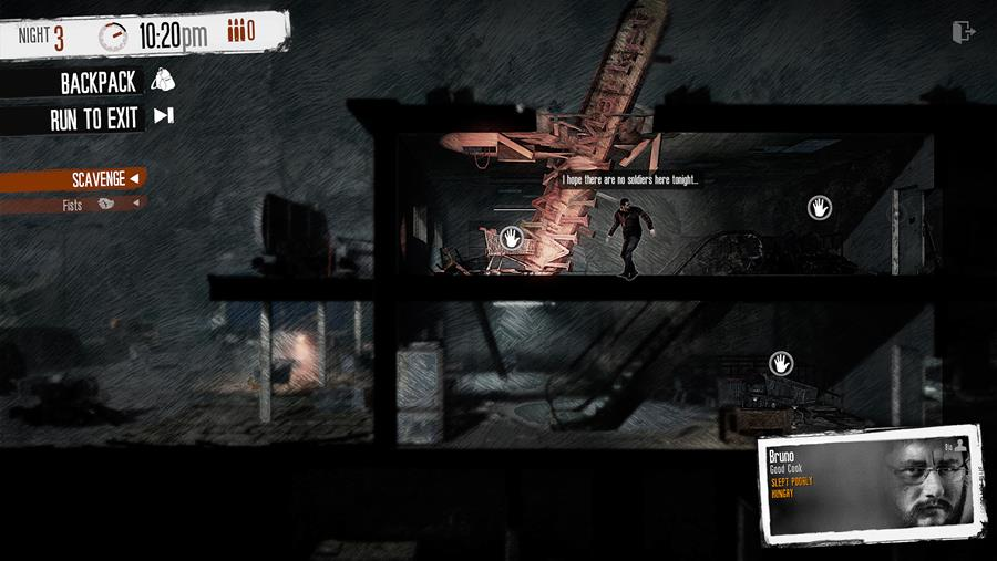 This War of Mine Scavenging