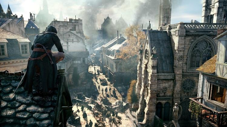 Assassins Creed Unity Cityscape